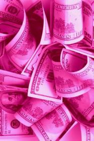 pink aesthetic money wallpapers rosa bad background desktop backgrounds wall trendy hotpink pretty cash parede iphone papel cats roses themes
