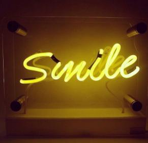 neon aesthetic yellow wallpapers signs vibes rainbow quotes theme happy yellowaesthetic lights colors computer loudly tara sighs lighting words uploaded