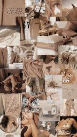 beige pastel aesthetic brown wallpapers backgrounds iphone collage hintergrund wattpad cores mood screen pastell fondos pantalla desktop farbe significado das