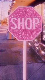 Shop sign in 2020 Pink wallpaper iphone, Pastel pink