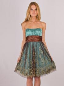 dresses guest fall guests copper teal looks vestidos gorgeous strapless colors neckline nice bridesmaid stunning para casamento wear pretty babydoll