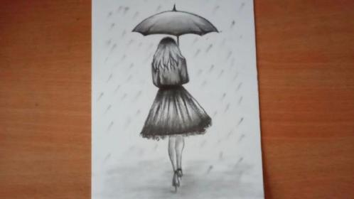 Pin by Art Ideas 2019 on Зонт Drawings, Pencil sketch
