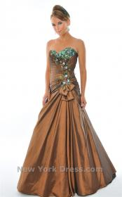 dresses prom copper bronze peacock gown rustic teal evening formal gowns detailing under teen colors elegant short pretty frocks dark