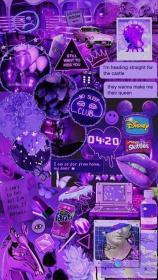 #Violet Collage lovers Aesthetic iphone wallpaper