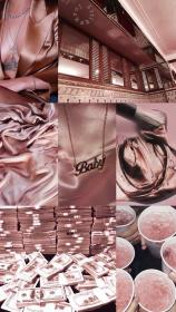 rose gold iphone screen lock aesthetic pink girly wallpapers random lockscreen phone hd collage background обои backgrounds cute marble makeup