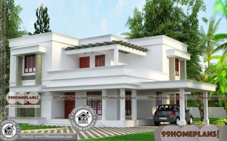 plans bhk budget low 30x40 india kerala lakhs duplex plan 2bhk homes floor elevation ft sq indian facing storey north