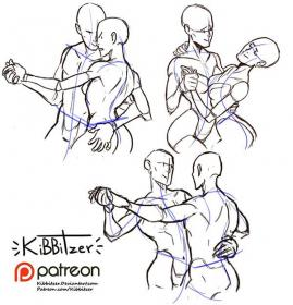 couple poses drawing patreon reference kibbitzer dance drawings dancing base dibujo creating sheet sketches pose references figure bocetos patron become