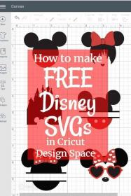 Free Disney SVG Files Cricut projects vinyl, Cricut