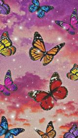 aesthetic purple cool backgrounds iphone butterfly hippie wallpapers pastel wall collage bedroom discover