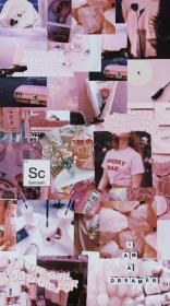 Wall Paper Aesthetic Collage Pink 63+ Ideas in 2020 Pink