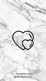 highlight highlights icons story icon marble covers bundle ready apple aesthetic insta app travel fb fitness guardado desde