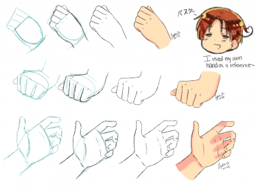 anime hand drawing hands draw tutorial drawings easy sketches dummies tips info paintingvalley