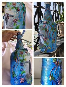 Pin on Bottle crafts