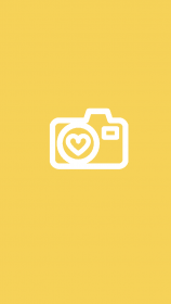icons highlights yellow icon highlight heart covers aesthetic orange insta camera travel story backgrounds template simple stickers phone wallpapers visit