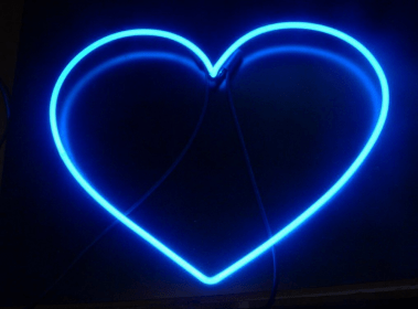 neon aesthetic heart light lights tears weheartit instagram baby themes backgrounds wallpapers azul blueaesthetic pastel