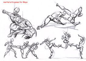 fighting poses drawing reference deviantart alexbaxthedarkside references pose draw action manga animation dynamic character anime folksonomy fight sketch drawings movement