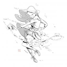 dance character reference drawing sketches dancing pose poses references stress cartoon animation away female sometimes gotta drawings website kuo cassey