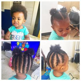 hairstyles braids short natural braided toddler hairstyle toddlers braid lil braiding kid blonde babies naturalhairkids infant children twists trending flower