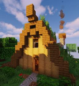 minecraft cabin tutorial frame cozy starter houses survival tiny