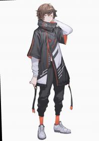 anime male badass outfits concept cyberpunk character clothes inspiration characters fantasy corpo characterdesign sketches