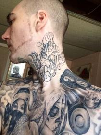 tattoo tattoos chicano neck tatuajes gangster chest prison hombres sleeve designs chicanos lowrider head ink gangsters hand face gangsta tatoo