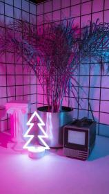 aesthetic neon rooms nature wallpapers haha