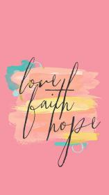 iphone wallpapers screen phone faith quotes lock bible hope backgrounds pink background verse lockscreen quote every peach coral beatiful verses