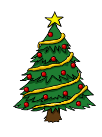 tree christmas clipart animated drawing easy drawings colorful craft clipartbest colors