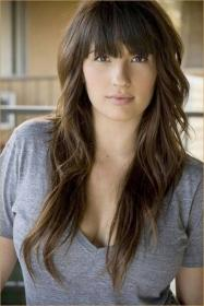 layered hairstyles long fringe bangs choppy hair medium side modern length layers haircuts without wavy fine haircut current inside hairstyle