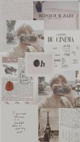 aesthetic collage wattpad bts pastel phone fondos feminist habits morning need know iphone parede wallpapers backgrounds cry hear society taehyung