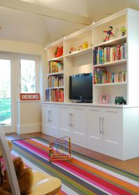 basement storage playroom toy room tv toys living ikea built furniture loft unit space decor spaces kid play units cheap