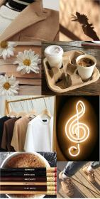 brown aesthetic pastel light collage wallpapers beige iphone backgrounds rainbow trendy