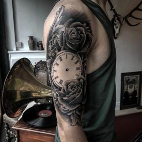Pin by Jake Ramsden on Pocket watch and roses Polynesian