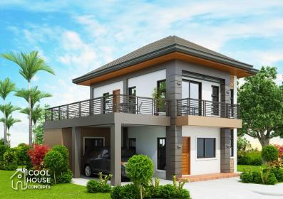 modern terrace story storey bedroom contemporary bedrooms coolhouseconcepts three plans concepts cool double floor simple plan spacious roof