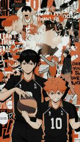 haikyuu kageyama hinata anime wallpapers aesthetic kawaii iphone really pantalla parede does fondos papel manga tristes kenma drawing kagehina