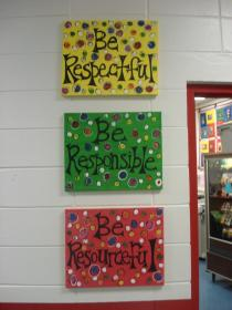 classroom hallway decor creative elementary decoration decorating office decorations upper colors door responsible themes theme idea linky engaged respectful primary