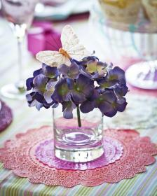 butterfly table decorations centerpieces butterflies decoration flowers theme hydrangea shower mix bridal perfect birthday visit