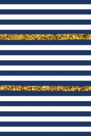 Navy blue and gold stripped Iphone background, Cute