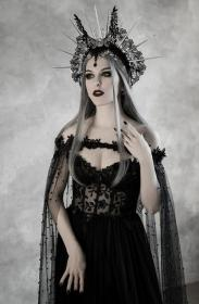 gothic wiccan dark vampire fantasy halloween cape corset bridal fairytale gown bodice dresses cloak cupped etsy fairy costume bride goth