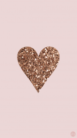wallpapers iphone rose gold glitter backgrounds heart para cool read