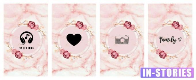 marble pink stories covers highlights highlight emoji insta story icon ig queen nail источник
