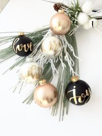 christmas decor modern trends rose ornament gold decorations minimalist incredible tree decorating sets inside instagram holiday baubles together vanchitecture gift