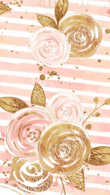 gold pink backgrounds roses rose background flower iphone pattern patterns cute wallpapers pretty phone baby iphonewallpaper discover