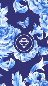 highlight story floral marble insta icons website icon template crystal