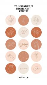 instagram icons highlight aesthetic highlights covers vozeli icon story stickers stories instagram5 frame iphone feeds insta etsy social creative app