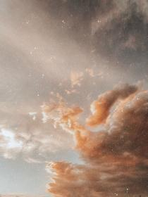 aesthetic beige pastel brown space sky light nature apollo ethereal weheartit
