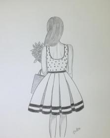 drawings drawing pencil draw beginners sketch simple sketches step girly pencildrawing faces creative anime princess dibujos gemerkt dinnerrecipeshealthy easydrawings pencilsketches