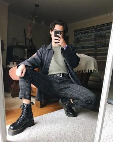 aesthetic boy outfit grunge clothing clothes guy korean mens teenage teen instagram pedro francisco styles trends