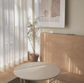 aesthetic cream brown beige cafe living chill minimalist soft rooms korean interior coffee scenery pastel minimal film natural x1 exceptional