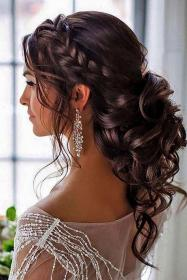 hairstyles quinceanera curly quince hairstyle simple step short bridal down amazing side hairdos ceplukan half peinados parties braid easy flower